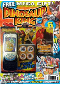 dinosaur king magazine