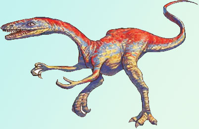 Coelophysis Dinosaurs pictures, bauri fossil Informations, body ...