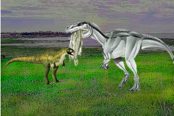 Gasosaurus egg dating from the jurassic period chart