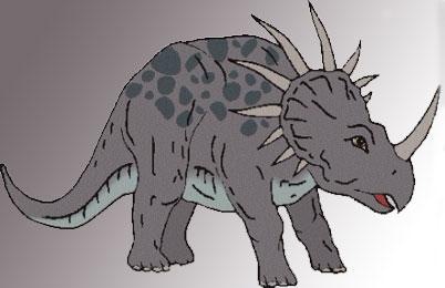Styracosaurus Dinosaur...