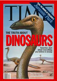 time magazine dinosaur