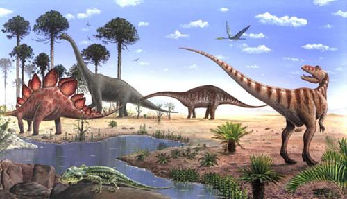 Image result for dinosaur scene
